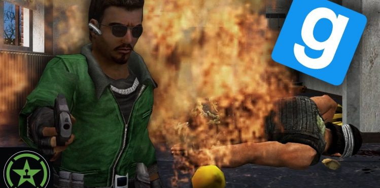Playing Gmod Adventure Game